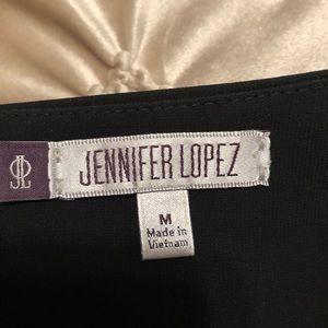 J Lo Jennifer Lopez Black Blazer Sz M